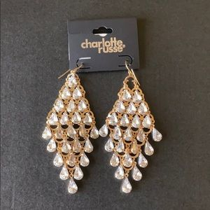 Charlotte Russe hanging earrings